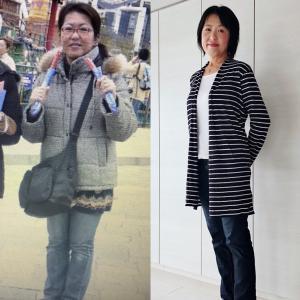 52歳でもマイナス20キロ!やったことは食べただけ。
