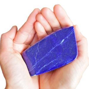 ラピスラズリの結晶