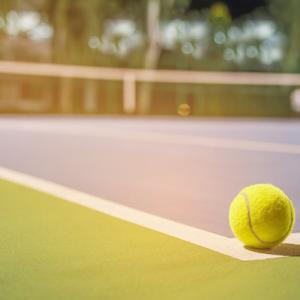 テニスしようよ