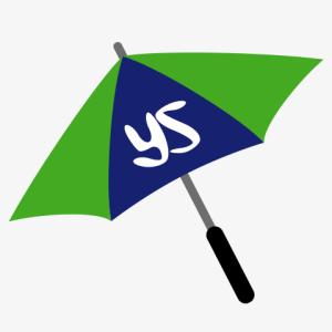 傘の華咲かせ