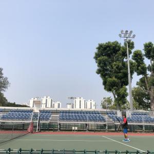 我が家のテニス活動 in シンガポール