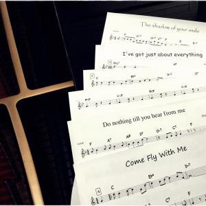 ジャズヴォーカリストのための譜面販売ブログ