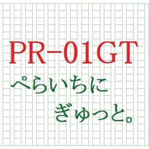 PR-01GT――ぺらいちにぎゅっと。