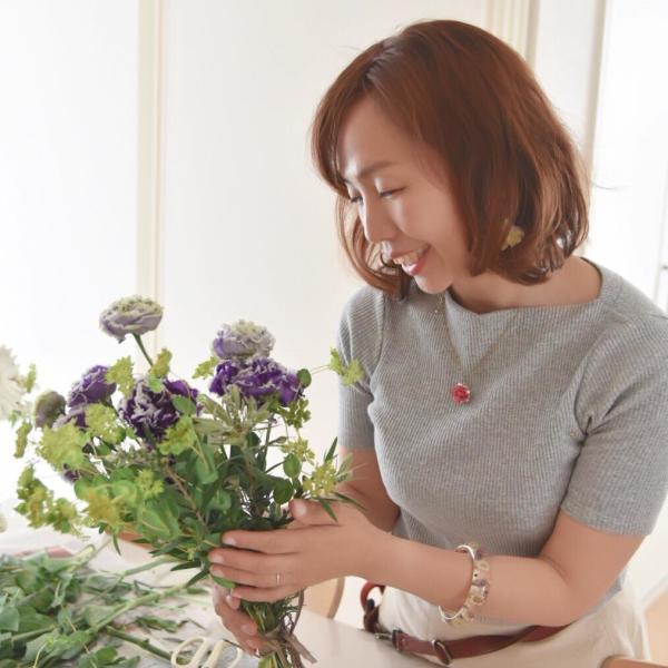 フラワーアレンジメント&子どもの花育教室♡アトリエパンセさんのプロフィール