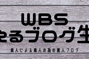 WBS-笑えるブログ生活