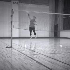 シニアのバドミントン練習ブログ