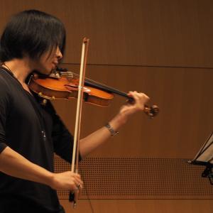 ヴァイオリンと世界放浪の旅