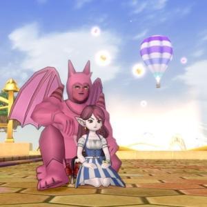 ドラクエ10夫婦ブログ わがままエル子とピンクの妖精