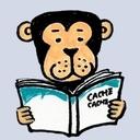 書に耽る猿たち