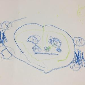 雨の朝の庭 - 専業主夫と5歳の息子をもつヒラ社員妻&母のブログ