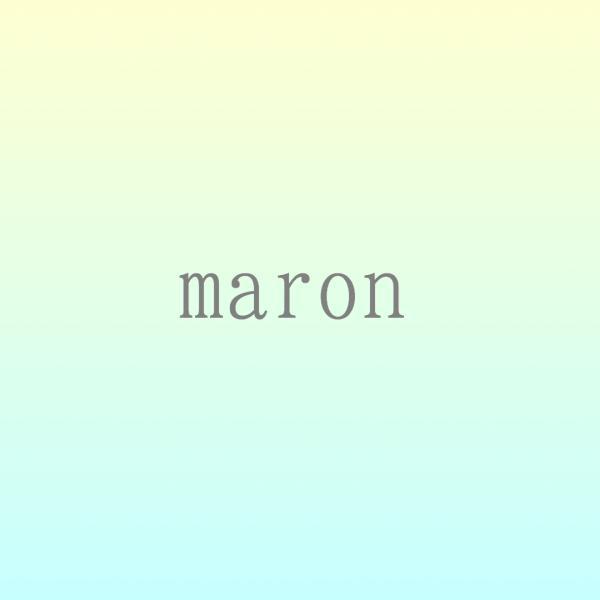 maronさんのプロフィール
