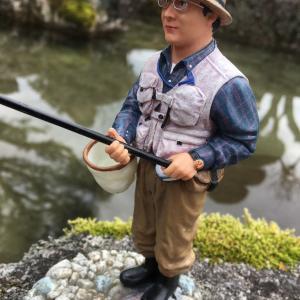 田舎の釣り人