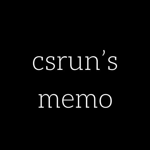 csrunさんのプロフィール