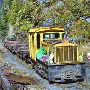 森林鉄道と模型と...