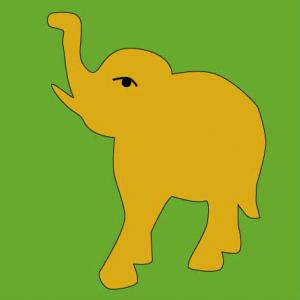 心穏やか体健やか「林の中の象」