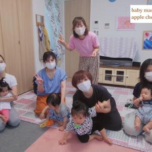 富山 初参加ママも安心して話せる・楽しめる少人数ベビーマッサージ♡りんごのほっぺ