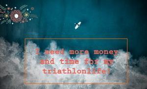 トライアスロンライフのお金とトレーニングのブログ
