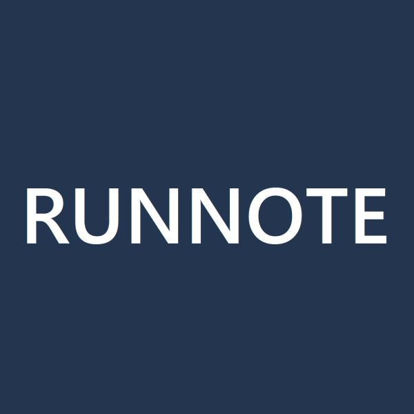 RUNNOTEさんのプロフィール