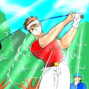 ゴルフコミック「GET OVER‼」