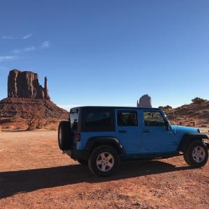 Jeep Wrangler で行く アメリカ ナショナルパークの旅 ± α