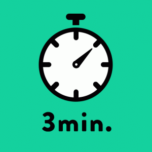 3分で人生変わるブログ