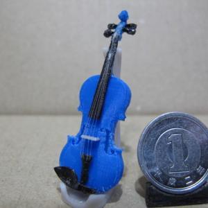 3DCAD & 3Dプリンタ で バイオリン