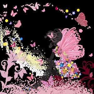 主婦とうさぎと空と花と