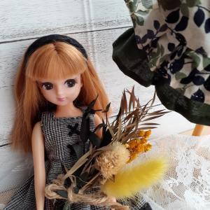 リカちゃん人形の服を作るのが好きです