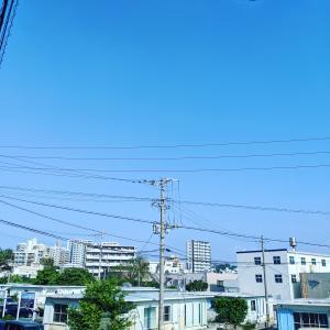 沖縄の3人家族の日々