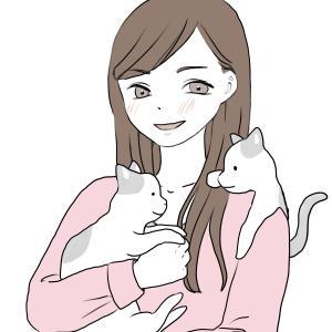 幸せな独身生活 with 保護猫2匹