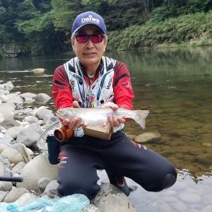 趣味の日(渓流釣りクラブ遊渓夢渓と錦鯉飼育)