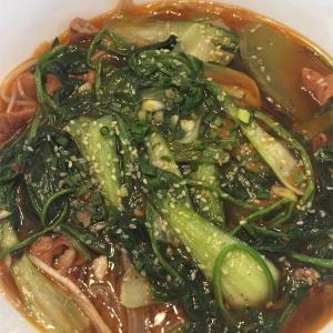 江西省旅行2日目 牛肉拌粉を食べる