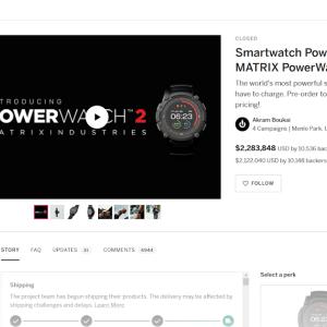 ついに届いたMatrix Powerwatch2・Powered by youって本当なのか、実際に使って検証。
