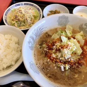 京都 西京極「夜来香」 〜懐かしの担々麺セットのありがたみ〜