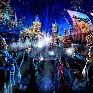 【USJ】ハリーポッター2019年のクリスマスのショー&フード、最新グッズ情報も!