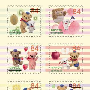 2019年9月13日発売、郵便局限定『ぽすくまと仲間たち』