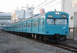 JR西日本103系が走る路線