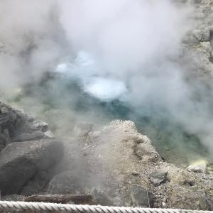 第4クール前に玉川温泉で岩盤浴