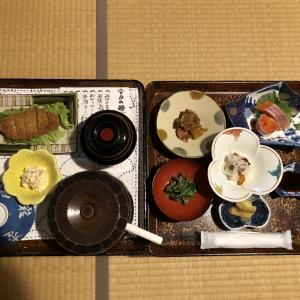 栃尾又温泉宝巌堂に一人宿泊(ご飯)2日目