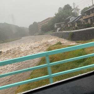 今日の朝活&昨日の台風