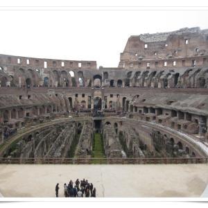ローマ一人旅⑤ 世界遺産コロッセオで古代ローマに想いを馳せる!
