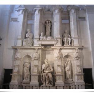 ローマ一人旅⑦ ミケランジェロの作品を中心に教会と広場巡り