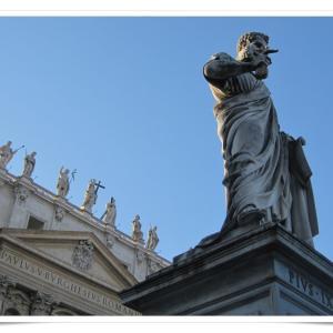 ローマ一人旅⑩ カトリック教会の総本山! サン・ピエトロ大聖堂へ!