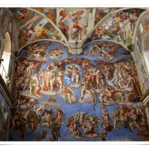 ローマ一人旅⑨ 最後の審判を目に焼き付けたシスティーナ礼拝堂