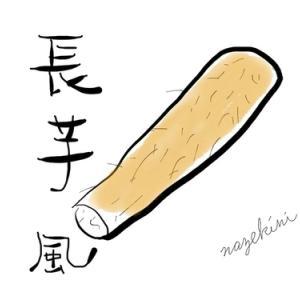 【長芋】暑さがまだ残っているけれど空気が乾燥してくる秋に、長芋短冊梅おかか和えを作り置きしてみたお話【なんちゃって薬膳】