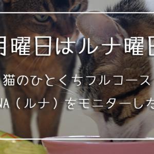 グルメな猫ちゃんに♪オシャレな国産LUNA(ルナ)はいかがですか?