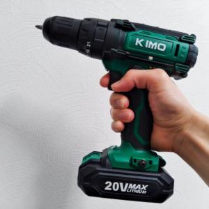 【KIMO社製電動ドライバーレビュー】性能良し、コスト良し、付属品十分で家庭のDIYに最適