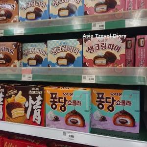 人気のお土産お菓子(かさばる系w)ロッテマートにて購入~♪