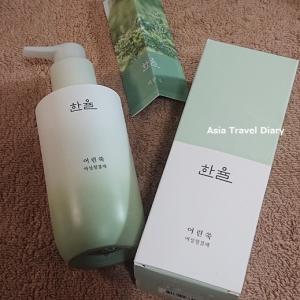 コスメ戦利品☆まとめて買っておいてよかった女性清潔剤@韓律(HANYUL)