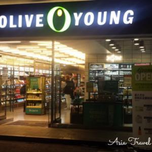 オリーブヤング(OLIVE YOUNG)ポップアップストア@新宿ルミネエスト&ルクア大阪